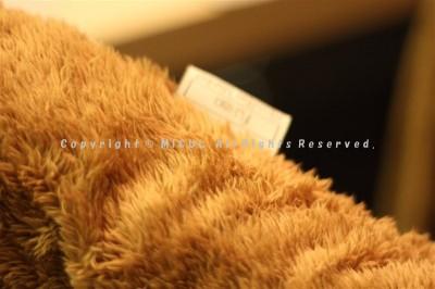 fu-mo マイクロファイバー着る毛布