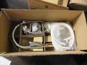 INAX キッチン水栓[JF-NA461S] タッチレス水栓 浄水器付