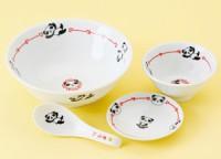 パンダ 中華食器